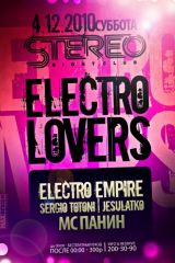 ELECTRO LOVERS!